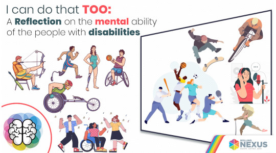Changing the mentality of the people with disabilities