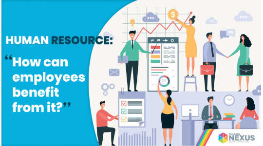 Employees benefitting from human resources