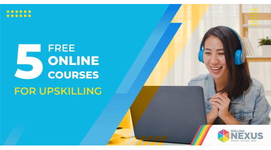 Free online courses for upskilling