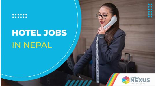 Hotel Jobs in Nepal