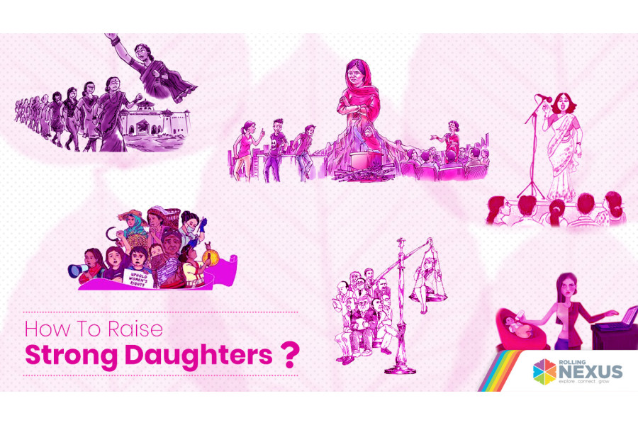 How to raise strong daughters?