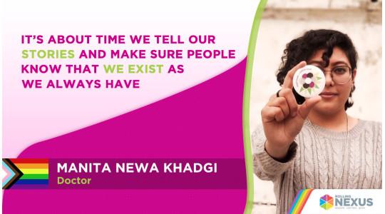 Interview with Doctor Manita Newa Khadgi