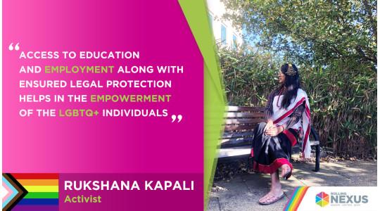 Interview with Rukshana Kapali