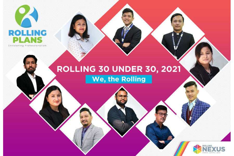Rolling 30 under 30 2021