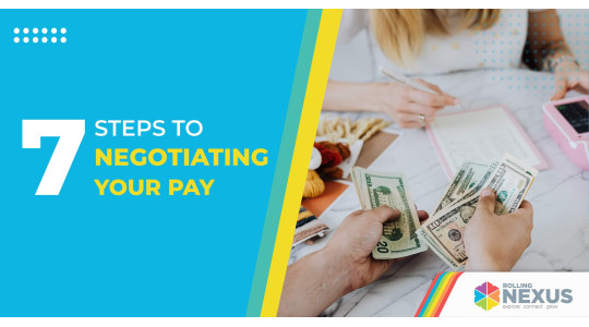 Seven steps to negotiating your pay