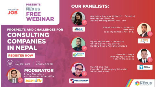 Webinar on Prospects and Challenges for Consulting Companies in Nepal