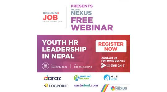 Webinar on Youth HR Leadership in Nepal