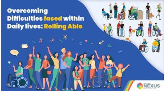 overcoming daily difficulties by disabled people