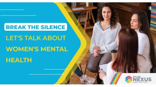 talking about women's mental health
