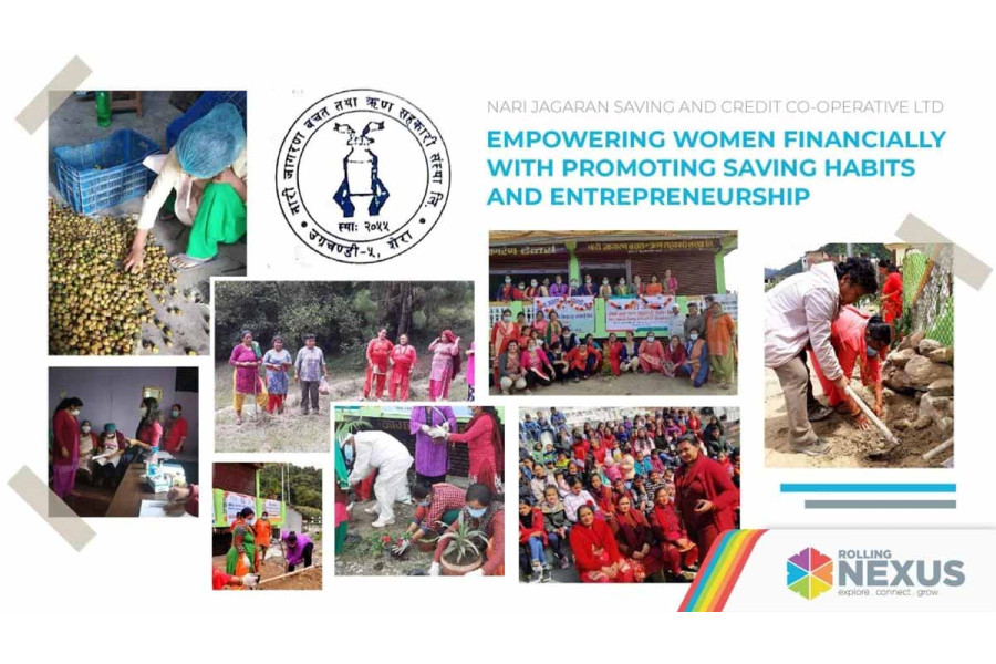 Empowering Women Financially with Promoting Saving Habits and Entrepreneurship