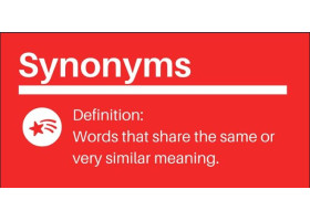 Synonyms - Objective Questions